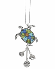 Ganz Car Charms - Sea Turtle with Color