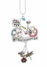 Ganz Car Charms - Bicycle with Color