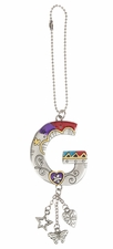 Ganz Car Charms Color Art Monogram Letter - G