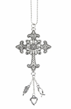 Ganz Car Charms Cross - ER27927