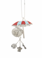 "Ganz Car Charms - ""Fun-in-the-Sun"" Beach Umbrella"