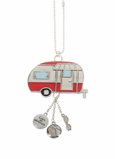 "Ganz Car Charms - ""Fun-in-the-Sun"" Camper with Color"