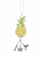 "Ganz Car Charms - ""Fun-in-the-Sun"" Pineapple"
