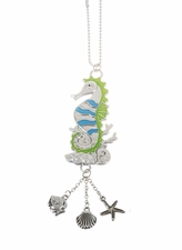 "Ganz Car Charms - ""Fun-in-the-Sun"" Seahorse with Color"