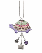 Ganz Car Charms - Happy Thoughts Turtle - Follow Your Dreams