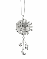Ganz Car Charms - Sun and Moon