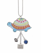 Ganz Car Charms - Think Happy Thoughts Turtle - Turtley Awesome