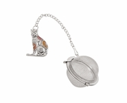 Ganz Charming Tea Infusers - Cat with Color