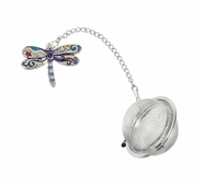 Ganz Charming Tea Infusers - Dragonfly with Color