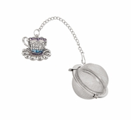 Ganz Charming Tea Infusers - Teacup and Saucer with Color