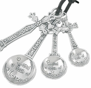 Ganz Measuring Spoons - Cross