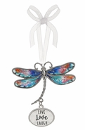 Ganz Dragonfly Ornaments - Live Love Laugh