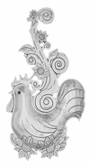 Ganz Everything Spoons - Rooster