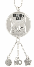 Ganz Grumpy Cat Car Charms - Go Away