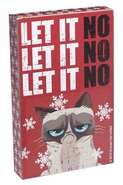 Ganz Grumpy Cat Holiday Box Sign - Let It No, Let It No