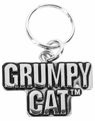 Ganz Grumpy Cat Pet Collar Charm