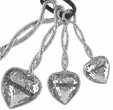 Ganz Measuring Spoons - Hearts with Entwined Handles