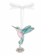 Ganz Hummingbird Ornaments - Happiness is having a friend like you