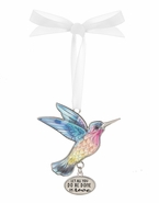 Ganz Hummingbird Ornaments - Let all you do be done in love