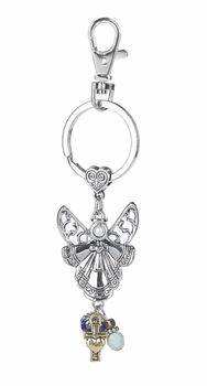 Ganz Key Ring - Angel and Dove