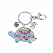 Ganz Key Rings - Happy Thoughts Turtles - Slow Down and Enjoy Life