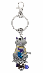 Ganz Key Rings, Keychains - Cat with Color