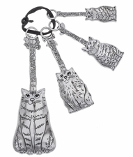 Ganz Measuring Spoons - Cats