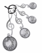 Ganz Measuring Spoons - Treble Clef