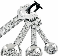 Ganz Measuring Spoons - Roosters