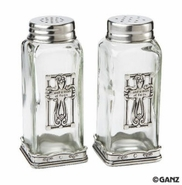 Ganz Salt and Pepper Shakers - Cross