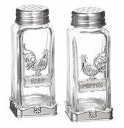 Ganz Salt and Pepper Shakers - Roosters