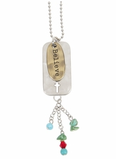 Ganz Simple Faith Car Charms - BELIEVE