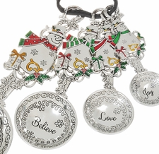 Ganz Measuring Spoons - Snowmen with Color