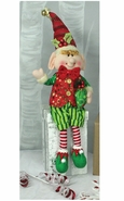 Hanna's Handiworks Christmas Merry Plush Dangle-Leg Elf Boy - 21""