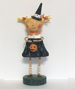 Lori Mitchell Adorable Dora Halloween Witch Figurine