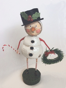 Lori Mitchell Chilly Willy Snowman Figurine