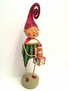 Lori Mitchell Elfin Magic Christmas Figurine