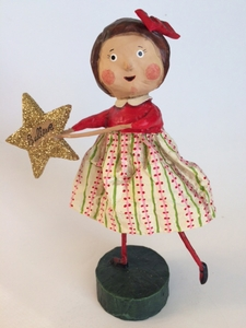 "Lori Mitchell ""I Believe"" Christmas Figurine"