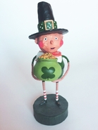 Lori Mitchell Lucky Liam St. Patrick's Day Figurine