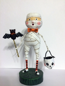 Lori Mitchell Mummy Boy Halloween Figurine