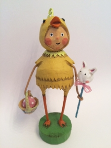 Lori Mitchell Peep Show Easter Chick Figurine