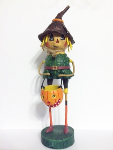 Lori Mitchell Scarecrow Halloween Wizard of Oz Figurine