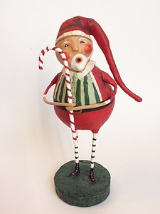 Lori Mitchell St. Nick's Sweet Licks Christmas Figurine