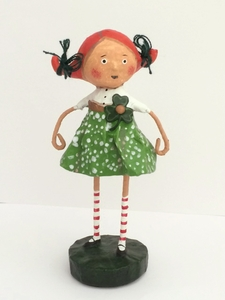 Lori Mitchell Sweet Kelly Green Figurine