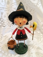Lori Mitchell Trixie Witch Halloween Figurine