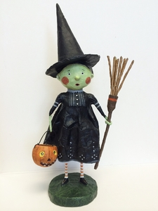 Lori Mitchell Wicked Witch Halloween Wizard of Oz Figurine