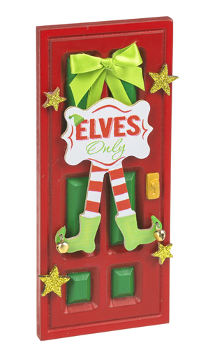 Magical elf door in gift box christmas magic elf door for The magic elf door