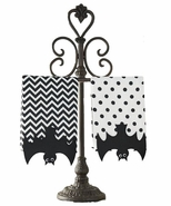Mud Pie Bat Fingertip Towels - Set of Two