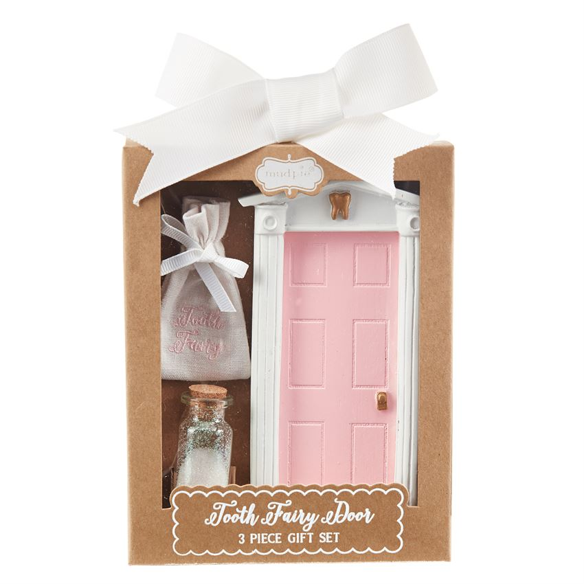 Mud Pie Pink Tooth Fairy Door Set  sc 1 st  Hearts Desire Gifts & Mud Pie Pink Tooth Fairy Door Set | Hearts Desire Gifts