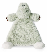 Nat and Jules Arnie Alligator Rattle Cozy Baby Blankie